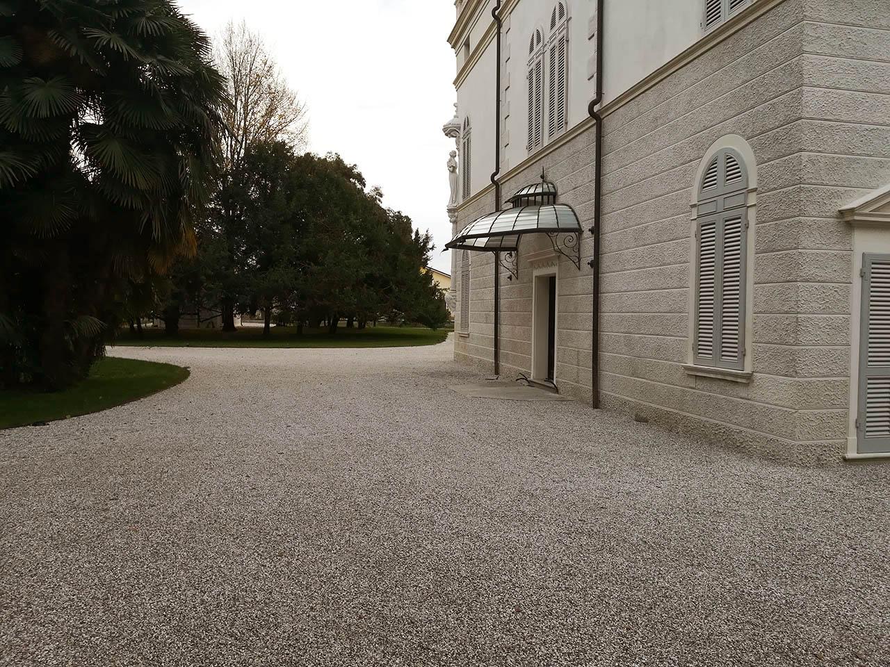 pavimentazione Villa Gritti venezia