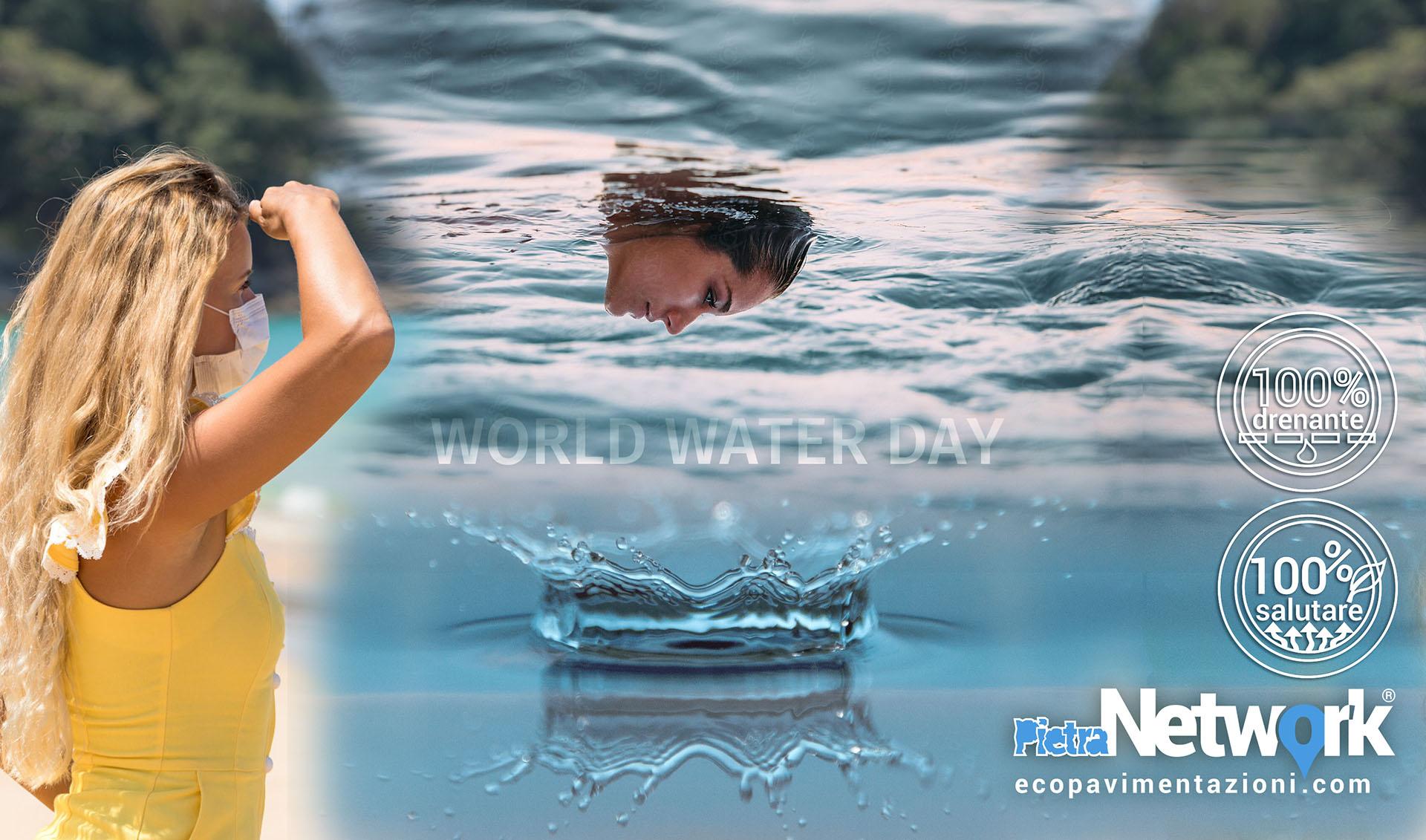 Primavera giornata mondiale acqua world water day