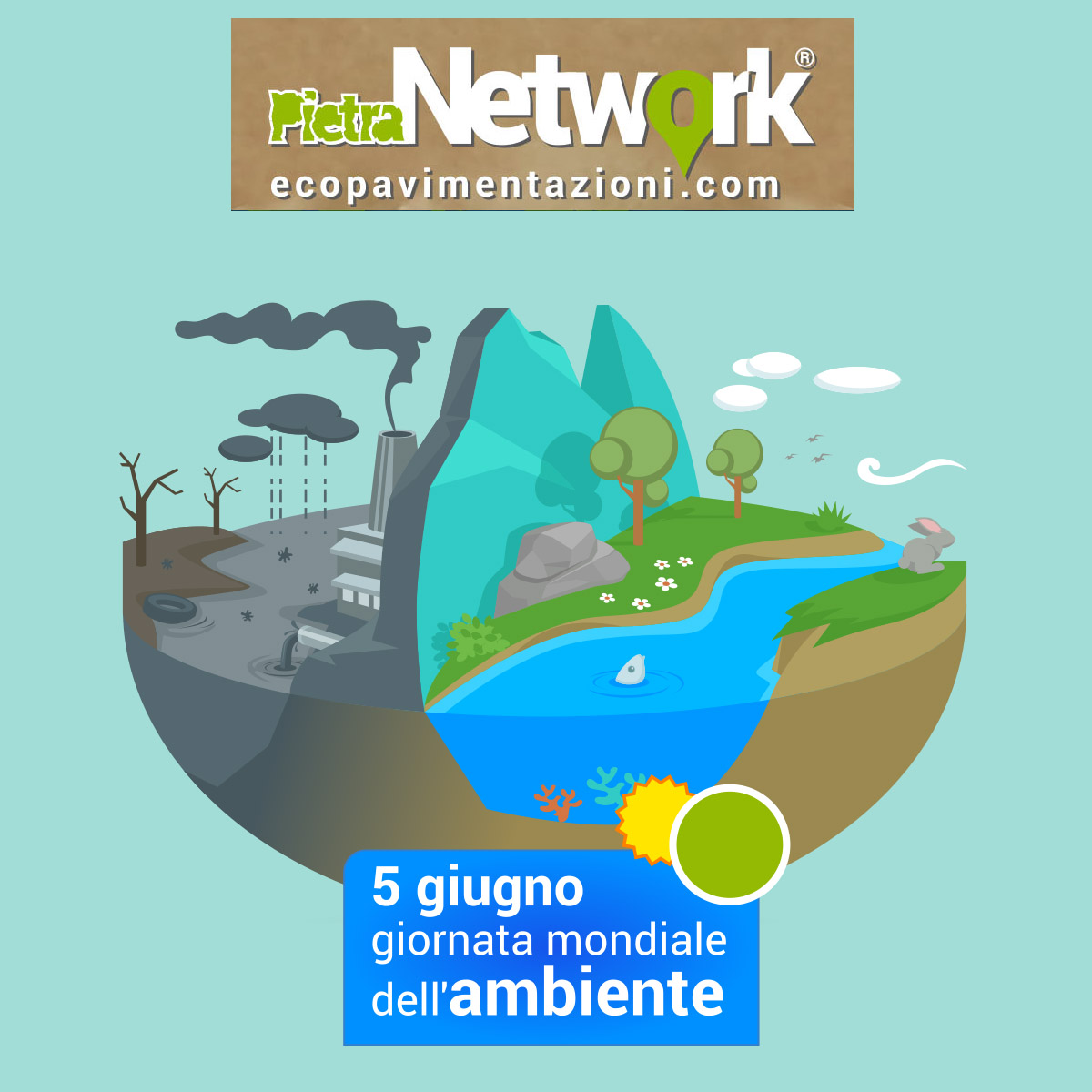 5 giugno giornata mondiale ambiente, pavimentazioni esterne eco